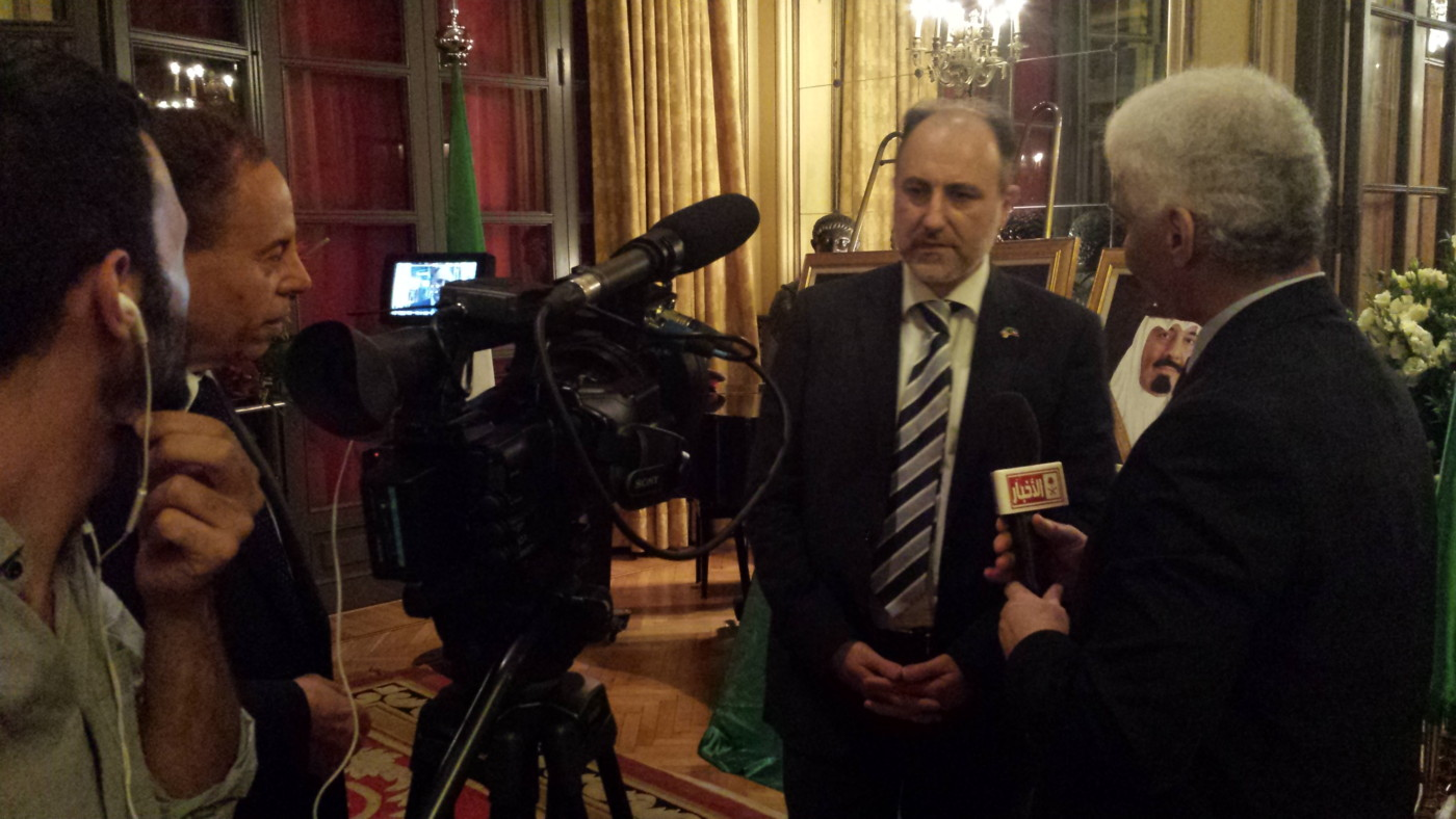 interview-saudi-tv-in-rome